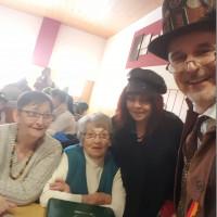 Gertrud, Irmgard, Sabine und Herbert