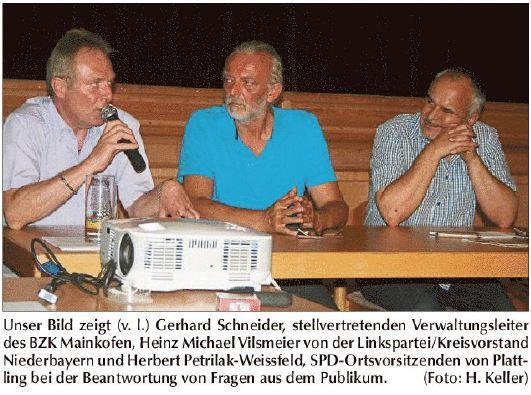 Podiumsdiskussion Zwangssterilisierungen und Euthanasie in Mainkofen
