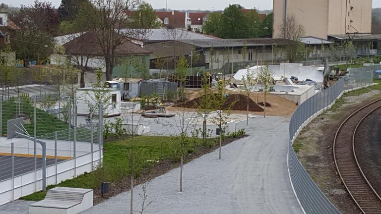 Dauerbaustelle Nordpark II