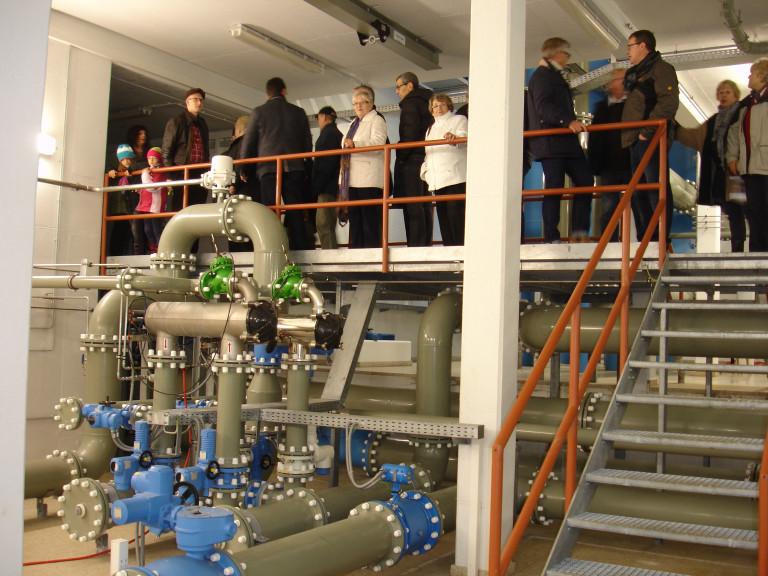 Im Maschinenraum des Wasserwerks