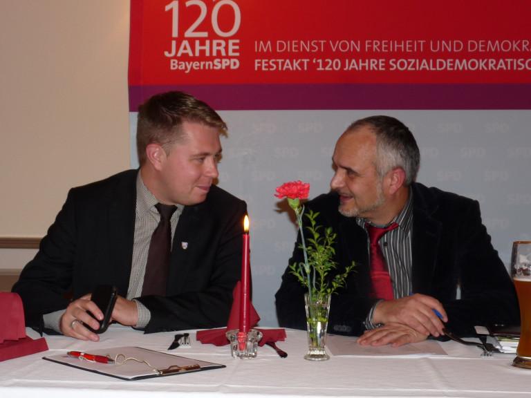 Michael Adam und Herbert Petrilak-W